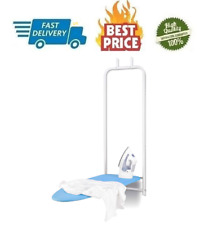 Folding Door Hanging Ironing Table Iron Board Space Saver Boards Wall Mount Hook