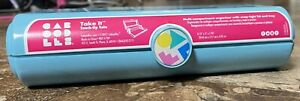 Caboodles Take It Touch-Up Tote Organizer Vintage Pale Teal Blue