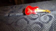 Van Halen Guitar Vintage Logo Metal Enamel Pin