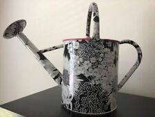 Liberty of London for Target Metal Black & White Floral Watering Can Rare Htf