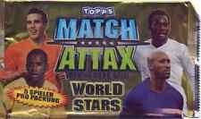 Match Attax World Stars aus Liste 20 Basis-Karten + Sonderkarten aussuchen#
