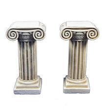 Column ionic order set sculpture artifact