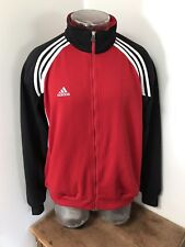 Mens Medium Vintage 90s Adidas Athletic Soccer Style Full Zip Up Retro Jacket
