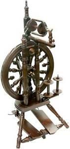 Kromski Minstrel Walnut Finish Spinning Wheel FREE Shipping Bonus