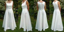 """Original Weise Brautkleid Hochzeitskleid Gr. 36 gereinigt """"ein Traum in Weiß"""""""