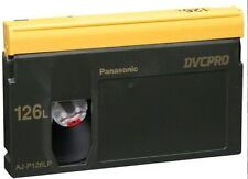 Panasonic DVC Pro AJ-P126LP Tape USATE DVCPro 126L  LOTTO 5 VIDEOCASSETTE