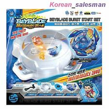 BEYBLADE BURST START SET B-38 Victory Valkyrie.B.V+ Launcher +Grip +Bey Stadium
