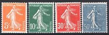 FRANCE ANNEE COMPLETE 1921 YVERT 158/161 , 4 TIMBRES SEMEUSE NEUFS xx LUXE M889D