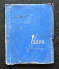 1964-1977 CLARK YS 60 SERIES FORKLIFT LIFT TRUCK PARTS CATALOG MANUAL