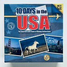 10 Days In The USA Out Of The Box Games Strategy Board Game - In Sealed Box/New
