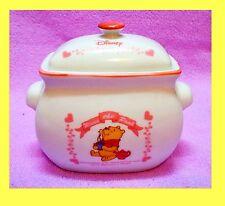 Disney Winnie the Pooh & Piglet Cartoon Artistic Ceramic Candy Sugar Jar Can