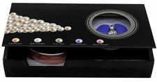 A Set Black Box Love Wish Pearl Necklace Set Oyster Drop Pendant Xmas Gift
