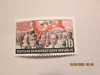 DDR 1955 MiNr 452 XI ** tiefstgeprüft Schönherr VP