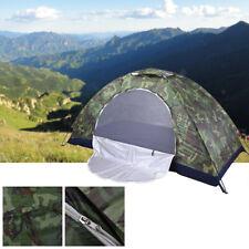 Camping Wasserdicht Camouflage Trekking Zelt 1 Personen Camping Zelte Outdoor DE