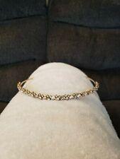Bridal Headpiece - Headband - Gold w/ Rhinestones
