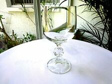 """Set of 4 Import Assoc Bohemia Crystal Claudia Wine Goblets 5 3/4"""" Multiple Avail"""