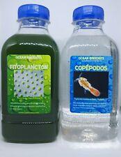 Cultivo de Copepodos bentonicos (500ml de Copepodos + 500ml de fito vivo)