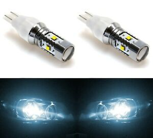 LED Light 30W 921 White 6000K Two Bulbs Back Up Reverse Replace Plug Play Lamp