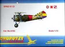Choroszy Models 1/72 SPAD 51C French Fighter