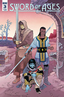 Sword of Ages #3 Cover A Comic Book 2018 - IDW