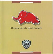 Lancia Delta HF Fulvia Barchetta Stratos The Great Race Glorious Symbol Brochure