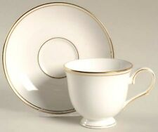 Lenox Federal Gold Tea Cup & Saucer Fine Bone China Made in USA  New