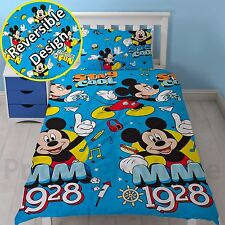 Mickey Mouse cool Set Housse de couette simple réversible enfants