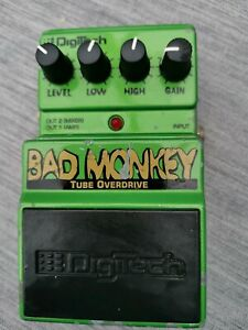 Digitech Bad Monkey Tube Overdrive Guitar Effect Pedal