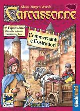 CARCASSONNE ESPANSIONE 2 COMMERCIANTI E COSTRUTTORI in italiano carcassone NUOVO