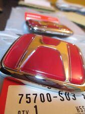 Rear Emblem H red Genuine JDM Honda Civic Ek9 Type-R  96-00 (EG 92-95)