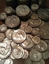 1/2 TROY OUNCE 90% Silver Coins Half Dollars Quarters Dimes