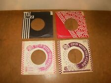 4 X ORIGINAL FACTORY RECORDS SLEEVE 45 RPM - PYE JAZZ - PYE - PICCADILLY  (166)