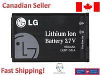 LG OEM LGIP-531A battery Original A110, A133, GM205, GS105, KG280, KU250