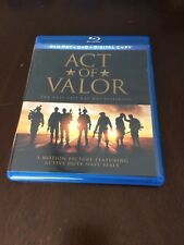 Act of Valor Blu Ray Excellent shape! Free Ship! Selling entire collection!