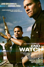 """End Of Watch (Style A) Movie Poster 24""""x36"""""""
