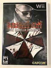 Resident Evil Umbrella Chronicles - Nintendo Wii - Replacement Case - No Game