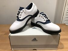 ADIDAS CLASSIC WHITE Z-TRAXION GOLF SHOES! UK5! Used! Only £29,90!!!
