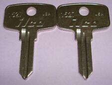 2 New Uncut Snap-On Tool Box Key Blank Ilco 1527 Set of 2