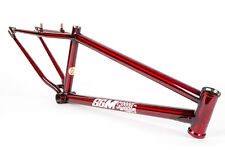 S&M SPEEDWAGON 24 INCH 21.5 RACE FRAME CRUISER TRANS RED SPEED WAGON BMX BIKE