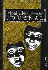 Mind´s Eye Theatre-THE LIVE ACTION GAMING MAGAZINE-JOURNAL-Issue#1-new-very rare