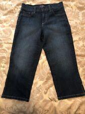 NYDJ Women's Jeans Size 4 Crop Capri Lift Tuck Technology Stretch