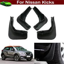 4x Car Mud Flap Splash Guard Fender Mudguard Mudflap for Nissan Kicks 2017-2020