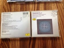 BEETHOVEN - Symphony 9 - Weiner - Bohm -  Deutsche Grammophon DDD 3D German CD