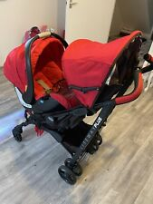 Chicco Liteway Pushchair + Car Seat includes  raincover Immaculate Condition