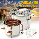 2G 10L Water Alcohol Distiller Brewing Kit Moonshine Still Stainless Home