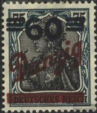 Danzig 72 (kompl.Ausg.) geprüft gestempelt 1921 Aufdruckausgabe