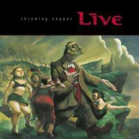 LIVE - THROWING COPPER  VINYL LP NEU