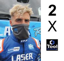 2 X Laser Tools 8057 Laser Tools Racing Balaclava Mask Snood Protection * GREY
