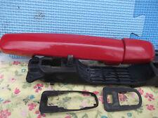 Suzuki Swift Exterior Door Handle Red ZCF NSF Passenger Side 1.3 GL 2007 3 Door