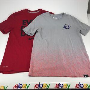 Lot of 2 Nike Dri Fit Men's Athletic T Shirts Size Medium